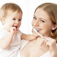 Los dientes de los niños: ¡Un cepillado perfecto!
