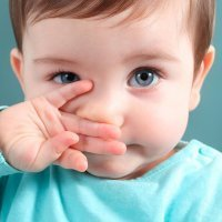 Ojo a los ojitos del bebé