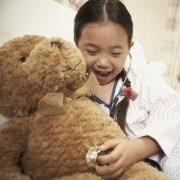 Niños: un amiguito en el hospital