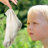 La atracción de los niños por los malos olores
