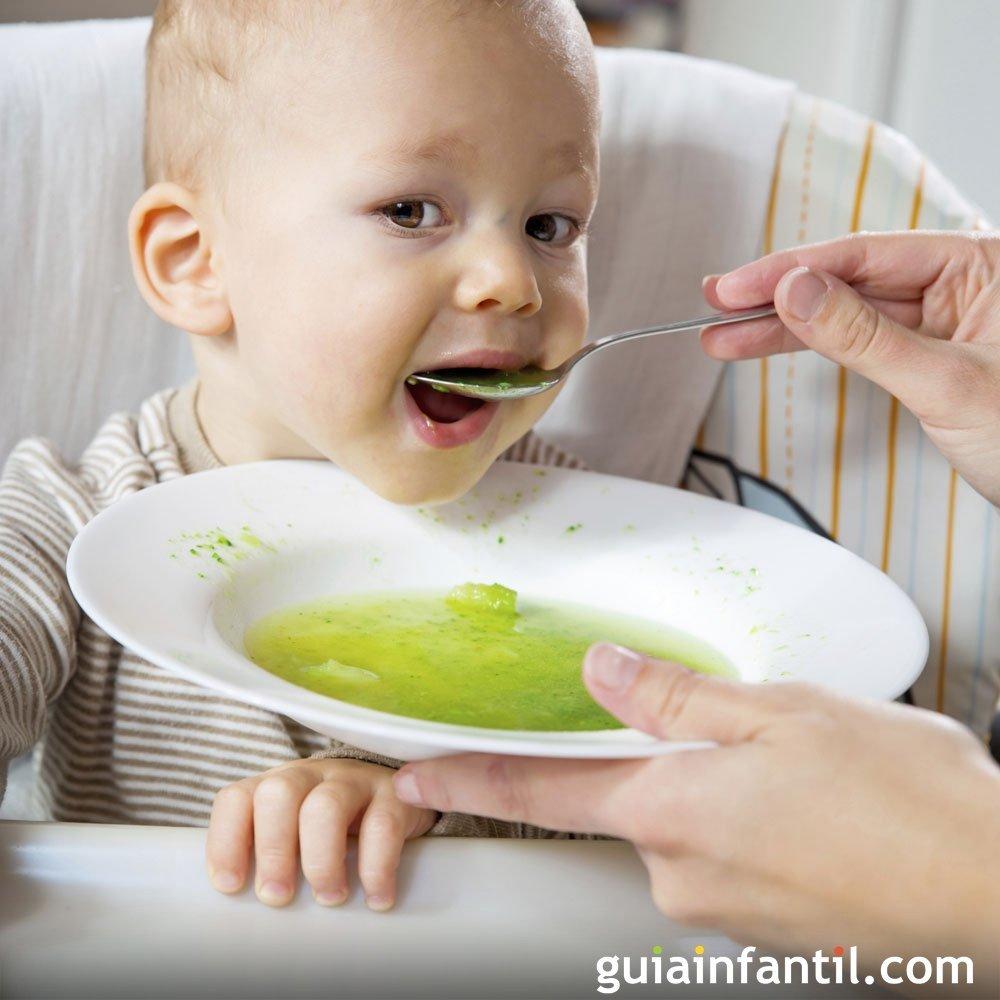 Recetas de puré para la comida de tu bebé