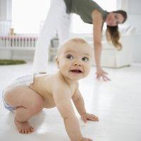 Ejercicios físicos para el bebé a partir del primer año