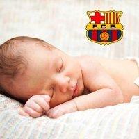 El nombre de un bebé... ¿Barça?