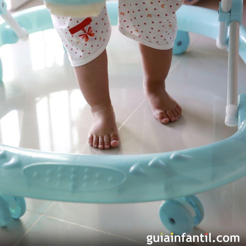 Andadores: ¿buenos o malos para el bebé?