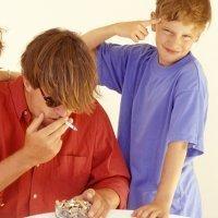 Papá no fumes, es malo para nosotros