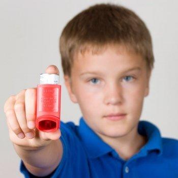 El día a día del niño con asma