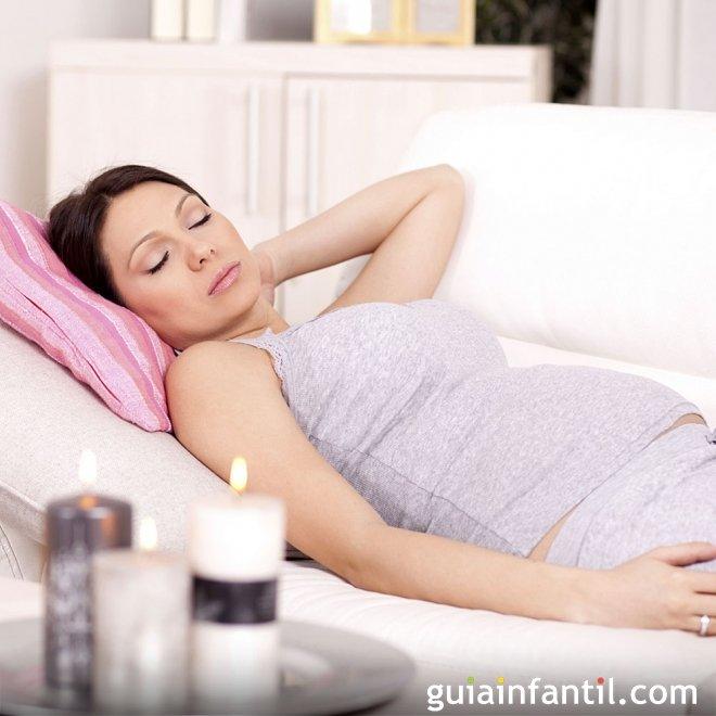 Felices sueños para la mujer embarazada