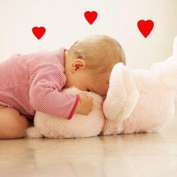 Los primeros amores de los bebés