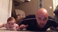 Lo que un bebé puede enseñar a su papá