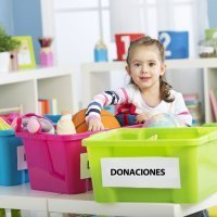 Practicar el desapego material con los niños en Semana Santa