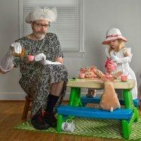 Divertida serie fotográfica de una padre con su hija