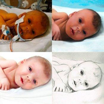 Las fotografías del bebé, algo más que un recuerdo