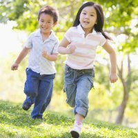 Diversión para los niños en los campamentos urbanos