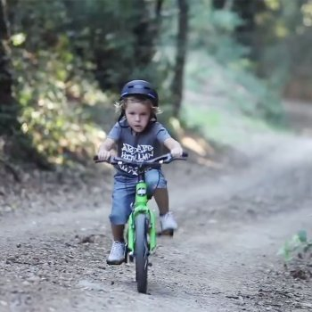 La bicicleta que crece con los niños