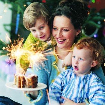 Cómo pasar la Nochevieja con niños