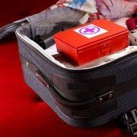 Botiquín de primeros auxilios para viajes en familia