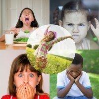 Las emociones básicas de los niños: alegría, tristeza, miedo, ira y asco