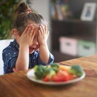 Los alimentos más rechazados por los niños