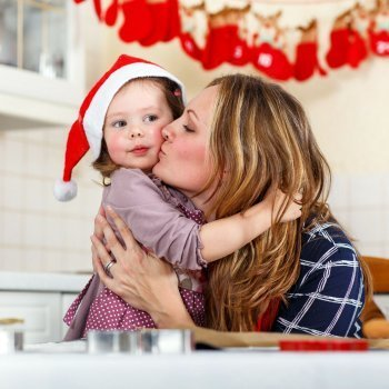 El mejor christmas de un bebé a sus padres
