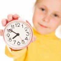 El cambio de hora y los niños