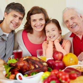 Padres e hijos deberíamos dar las gracias cada día