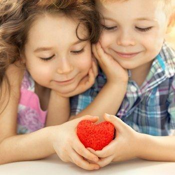 Corazones por San Valentín para todos los niños
