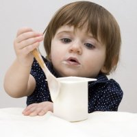 El yogur en la alimentación del bebé