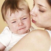 El llanto del bebé indica buena salud