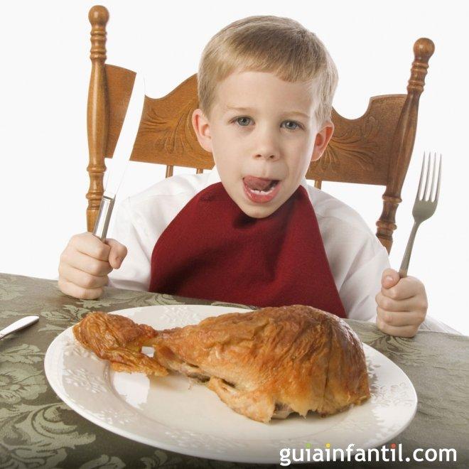 Enseñar a los niños a comer de todo es posible