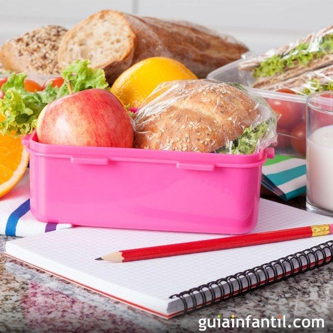 Una merienda rica y nutritiva para el colegio de los niños