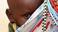 La crianza de los niños en el corazón de África