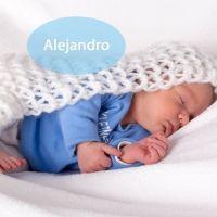 El nombre Alejandro es el más común entre los niños