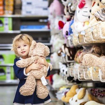 Comprar juguetes no es un juego