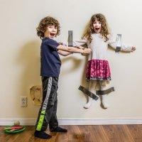 Ríete con las trastadas de tus hijos