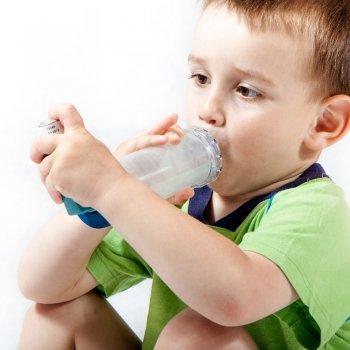 Los niños asmáticos y la contaminción