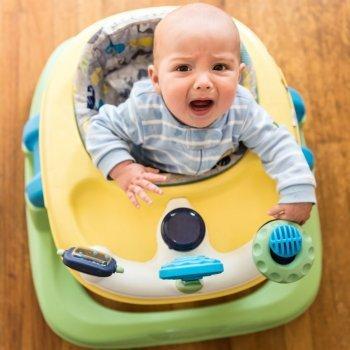 Por qué son tan peligrosos los andadores para el bebé