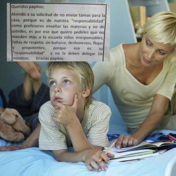 La polémica respuesta de unos profesores ante la queja por exceso de deberes infantiles