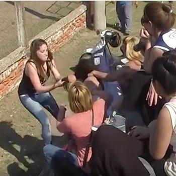 Las violentas peleas de los padres en los partidos de fútbol infantil