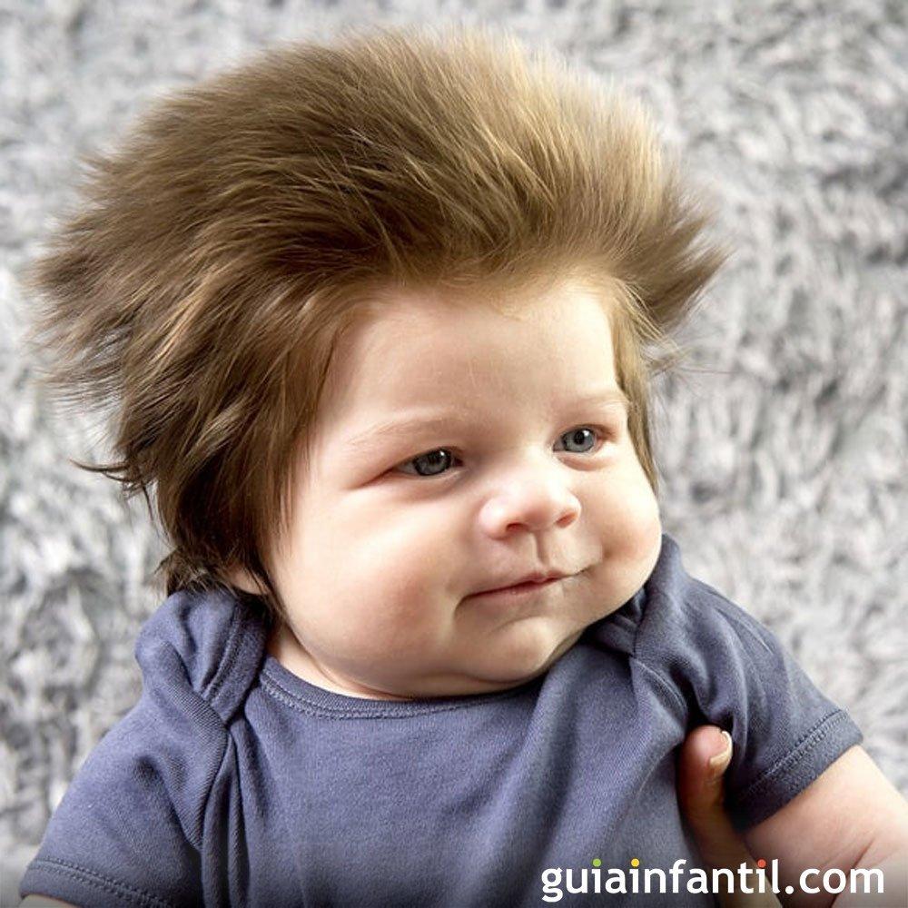 Corte de cabello nino pelon