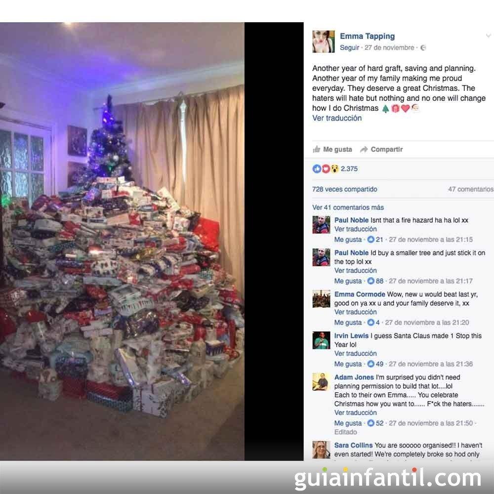 La madre más criticada por comprar 350 regalos en Navidad a sus hijos 3c1d30e5fff