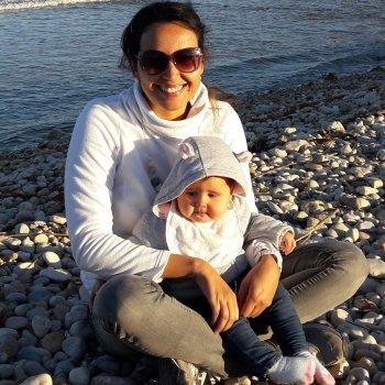 Una mamá guatemalteca en Madrid