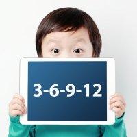 La regla 3-6-9-12 para el uso de la tecnología en los niños
