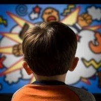 Cómo afectan los dibujos animados a nuestros hijos