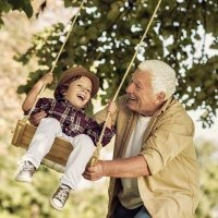 Cuidar a los nietos protege contra la demencia y el Alzheimer