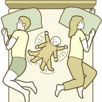 Las divertidas ilustraciones del colecho. Lo que puede ocurrir cuando duermes con el bebé