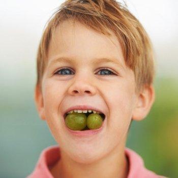 ¡Cuidado con las uvas!