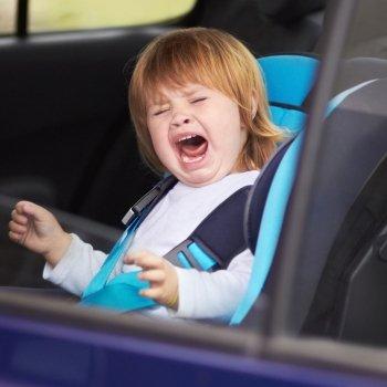 Qué puede ocurrirle a un niño en un accidente de tráfico