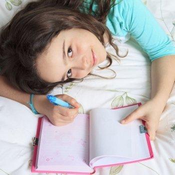 Por qué es bueno que los niños escriban un diario