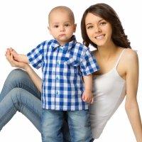 Los niños heredan la propensión a la calvicie de las madres