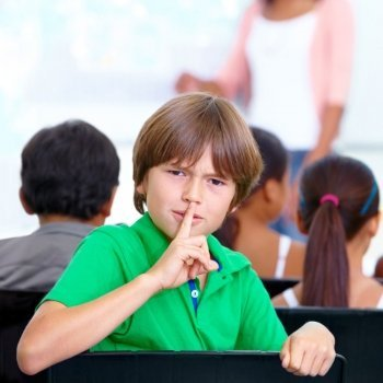 La técnica del silencio para resolver conflictos entre niños